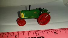 """1/64 ertl custom agco white oliver 88 nf on """"steel"""" tractor farm toy free ship"""