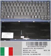 Clavier Qwerty Italien Packard Bell CH2 MX36 AJAX C2, MX37, 9J.N8182.P2E Noir