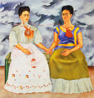 Frida Kahlo The Two Fridas canvas print giclee 8X8&12X12 art poster reproduction