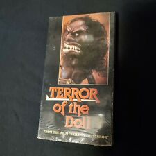 Terror Of The Doll VHS Rare Horror Trilogy Of Terror Mpi Cult Gore
