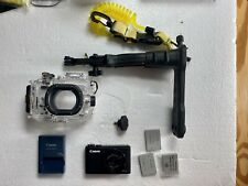 Canon PowerShot S110 12.1MP Digital Camera w/ WP-DC47 Underwater Housing Set