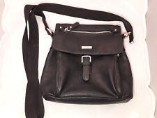 Tom Tailor Leather Shoulder Bag Germany Made in PCR Black Damaged