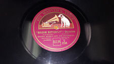 "MAREK WEBER Puccini: Madam Butterfly UK 12"" 78 His Master's Voice C 2284 HMV"