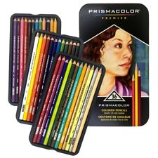 Prismacolor Premier 36 Colored Pencils in Tin Box - Artist Quality