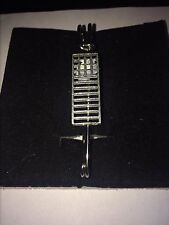 "Mackintosh Chair Back W19 Scarf , Brooch and Kilt Pin Pewter 3""  7.5 cm"