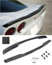 EOS For 05-13 Corvette C6 | ZR1 Style HYDRO CARBON FIBER Rear Trunk Wing Spoiler