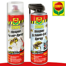 COMPO Set: 500ml Wespen Power-Spray + 500ml Wespen Schaum-Gel Spray Bekämpfung