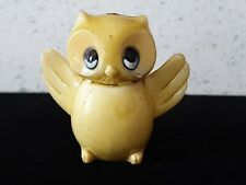 Antique Old Ceramic Made Japan Figurine Animal Vintage Painted Tweety Bird Owl