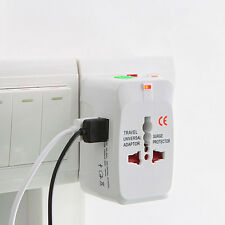 Universal Travel AC Power Charger Adapter Plug Dual USB Converter AU UK US EU