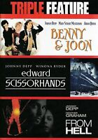 Johnny Depp - Triple Feature (DVD, 2008, 3-Disc Set, WS)