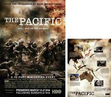 THE PACIFIC Movie POSTER 23x34 (includes FREE 18 x 24 Battle Map) Bob Rumnock