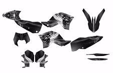 KTM EXC XCF 125 250 300 450 530 graphics 2008 2009 2010 2011 Design #6666 Metal