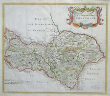 'THE NORTH RIDING OF YORKSHIRE' by Robert Morden c.1695