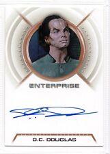 Star Trek Enterprise Autograph DC Douglas A9 Zepht A09