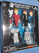Terminator 3 Rise Of The Machines ~BLOXX Figures Dreamazz  Mint in Box 2003