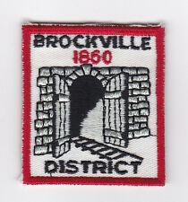 SCOUT OF CANADA - CANADIAN SCOUTS ONTARIO (ONT) BROCKVILLE DISTRICT 1860 Patch
