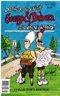 SIGNED President George Barbara Bush Politics Cartoon Book, Vacationland Maine