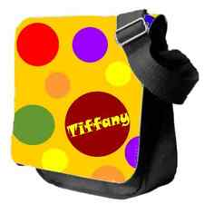 Personalised Yellow Spotty Child's Shoulder Bag - Ideal Small Carry Bag for Play