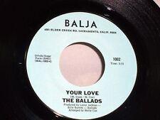 Ballads: Your Love / Wait   [Unplayed Copy]