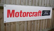 Ford Motorcraft - retro advertising pvc banners for car workshop / garage