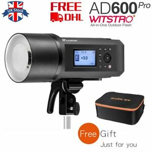 DHL Godox AD600Pro 600Ws TTL HSS Outdoor Flash Light Wireless X System with Case