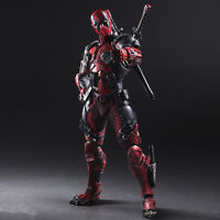 Play Arts X-Men Deadpool Wade Winston Wilson 26cm Action Figure Toy NEW WITH BOX