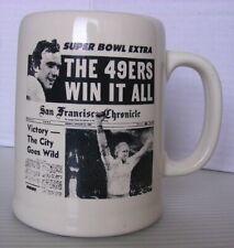 San Francisco 49'ers 1982 Super Bowl NEW Commemorative Mug/Stein - FREE SHIPPING
