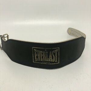 Everlast Weight Lifting Belt Medium Made In USA 41.5 Inches