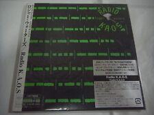 ROGER WATERS-Radio K.A.O.S. JAPAN Mini LP CD w/OBI POSTER Pink Floyd
