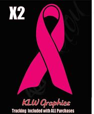 Breast Cancer Ribbon * Vinyl Decal Sticker Mom Truck Family Car Diesel Bra