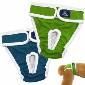 Dog Diaper Adjustable Pants Sanitary Underwear Washable Absorbent Pet Supplies