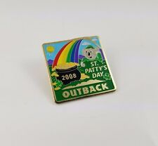 2008 Outback Steakhouse St Patty's Day Hat Lapel Pin