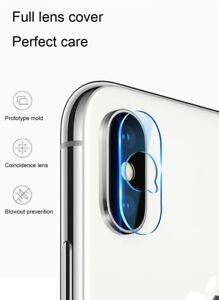 Back Camera Lens SOFT Tempered Glass Screen Protector  For iPhone XS MAX and XR
