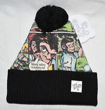 New Ape Sht Bernard 7 Digi Beanie Bobble Hat Made in UK