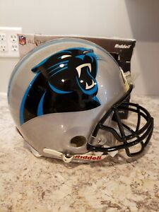 Riddell NFL Carolina Panthers Proline Authentic Non-Speed Full-Size Helmet
