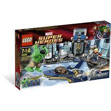 LEGO Marvel Super Heroes 6868 Hulk's Helicarrier Breakout NEW IN BOX