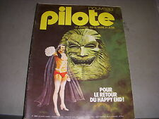PILOTE 754 18.04.74 YES CLOSE TO THE EDGE CARICATURE FAYCAL D'ARABIE