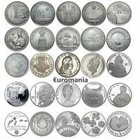 Portugal 5 Euro Todas las Monedas Conmemorativas de 2004 - 2018 disponibles