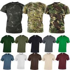 Magliette e maglie verde fantasia camouflage per bambini dai 2 ai 16 anni