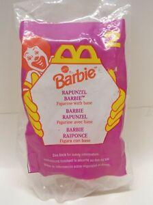 1996 McDonalds Barbie Rapunzel Barbie Happy Meal Toy - figurine  #2 NIP NEW