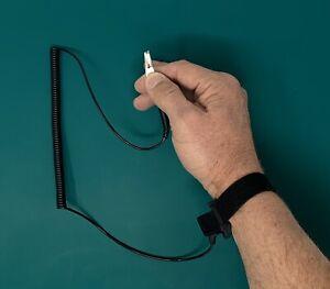 Anti static Antistatic ESD Ground Strap Wrist Band Grounding Bracelet Kit