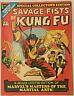 SAVAGE FISTS OF KUNG FU#1 VF/NM 1975 MARVEL BRONZE AGE TREASURY COMICS
