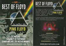 FLYER PLV - BEST OF FLOYD ( PINK FLOYD SHOW ) EN CONCERT LIVE 2015 FRANCE