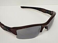 Authentic Oakley Flak Jacket XLJ Raspberry Spritzer Black Iridium Sunglasses