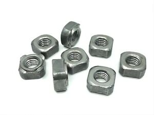 8 pcs 7/16-14 weld in four projection plain carbon steel weld nuts GM Chevy