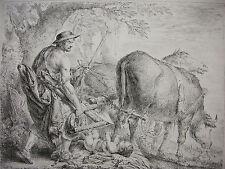 C. B. RODE ´PALAMEDES DURSCHAUT ODYSSEUS; ULISSES; N. 90; J. 95´ RADIERUNG 1779