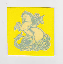 1980's SCOUTS OF HONG KONG - HK ST GEORGE'S DAY RALLY OFFICIAL SCOUT STICKER (Y)