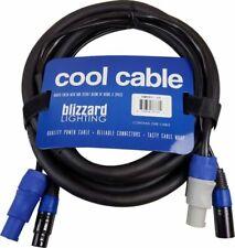 Blizzard 10ft Powercon Plus 3-pin DMX Combo Cable -