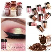 12 Colors Shimmer Glitter Powder Eyeshadow Makeup Eye Shadow Cosmetics