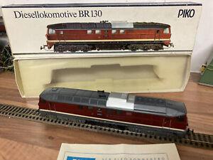 Piko BR 130 Diesellokomotive mit OVP Unbenutzt Funktion Geprüft H0